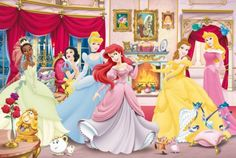 Princesses (96 pieces)