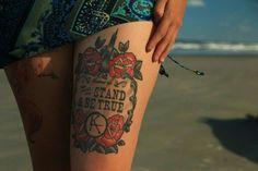 Beautiful Dark Tower tattoo inspiration