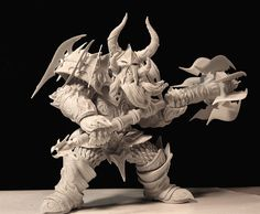 Warcraft, Dwarf Warrior by LocascioDesigns http://www.pinterest.com/cs0272/