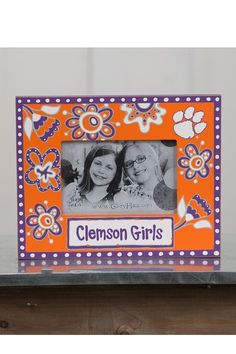 Clemson Girls Frame by Glory Haus on @HauteLook