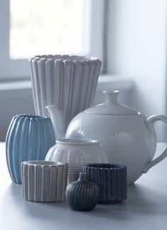 Fra funktionel brugskunst til retrohit - DESIGN-IKONER - DESIGN - Antik og Auktion Rillet porcelæn, Schollert, Lyngby m.m.