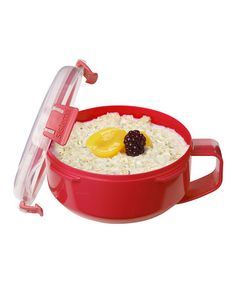 Look what I found on #zulily! Red Oats-to-Go Container by Sistema #zulilyfinds