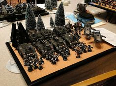 Spikey Bits Warhammer 40k, Fantasy, Conversions and Painted Miniatures: Sharp Gothic Styled Black Templar Army