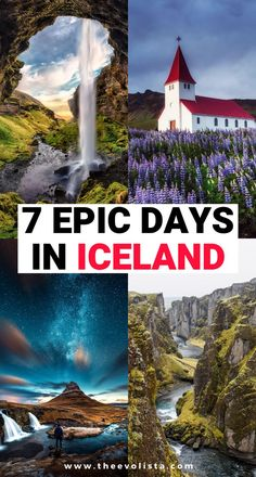 The Ultimate 7 Days in Iceland Road Trip | Iceland Ring Road Itinerary | Prettiest places in Iceland | Iceland Travel Guide | Best things to do in Iceland | Where to stay on an Iceland Road Trip | Tips and tricks for road tripping in Iceland | Travel tips for your Iceland vacation | Best time to go to Iceland | Where to go in Iceland | Epic photo spots in Iceland | Best waterfalls to see in Iceland | Hidden Gems in Iceland | Best views in Iceland | Bucket list Iceland places #Iceland…