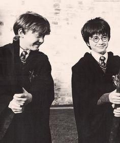 Ron Weasley + Harry Potter
