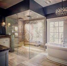 47 Magnificient Shabby Chic Bathroom Decor Ideas - Page 5 of 31 - BathroomRemodel Modern Master Bathroom, Modern Bathroom Design, Bathroom Interior, Restroom Design, Restroom Ideas, Minimalist Bathroom, Bathroom Furniture, Bad Inspiration, Bathroom Inspiration