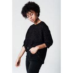 Black knit Batwing  Jumper