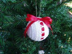 6 Christmas Crochet Balls ООАК Christmas by TaniaNeedleArt on Etsy
