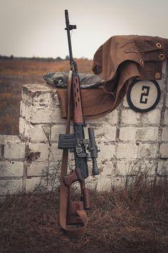 Снайперская винтовка Драгунова Dragunov Sniper Rifle