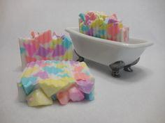 Candy Crush Soap - Fruity Kids Party Favor - Childrens Gift Soap - Moisturizing Glycerin Soap - Shea Butter Soap - Handmade Decorative Soap