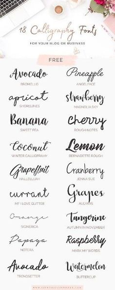 New Quotes Calligraphy Handwriting Script Fonts 45 Ideas Tattoo Fonts Cursive, Calligraphy Handwriting, Hand Lettering, Script Fonts, Fonts Quotes, Typography Quotes, Free Tattoo Fonts, Calligraphy Writing, Lettering Tattoo