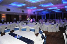 Wedding Reception in the Carrick Suite at The Westerwood Hotel & Golf Resort #TheWesterwood #Weddings #QHotels