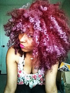 Click the image for Natasha& natural hair photos and hair care/color regimen Pelo Natural, Natural Hair Tips, Natural Hair Inspiration, Natural Hair Styles, My Hairstyle, Afro Hairstyles, Divas, Do It Yourself Fashion, Hair Photo
