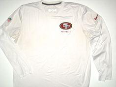 Bubba Ventrone Practice Worn San Francisco 49ers Football  23 Long Sleeve  Dri-Fit Nike XL Shirt 087959f78
