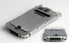 If Robo cop had an iphone case, this would be it. I mean, he would need it with those beefy hydraulic hands of his, right?? am i right????