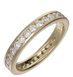 Diamond channel set band  Please contact bespoke@makermends.com if you would like a quote for this ring