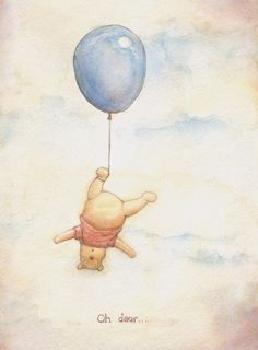 Image result for winnie the pooh watercolor