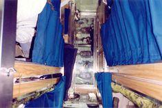 It was always so roomy on board. lol