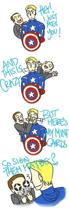 Lol Captain​ and Coulson