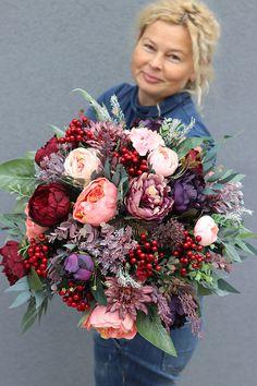 Wreaths For Front Door, Door Wreaths, Funeral, Artsy Fartsy, Floral Wreath, Bouquet, Flowers, Summer, Crafts