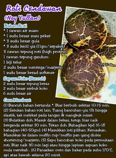Roti cendawan Pastry Recipes, Bread Recipes, Protein, Recipies, Food And Drink, Beef, Baking, Breads, Cupcakes
