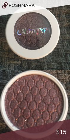 New unopened COLOURPOP CRICKET SUPER SHOCK shadow New in package only opened for photo COLOURPOP CRICKET super shock shadow. Smoky mid-tone plum color with warm and cool highlights of soft glitter. Amazing! Metallic finish. Colourpop Makeup Eyeshadow
