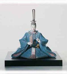 Lladro Figurines Hina Dolls - Emperor