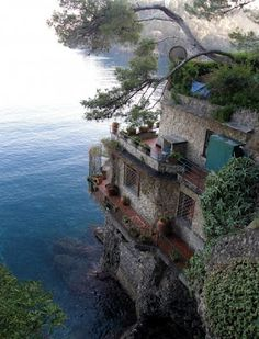 ocean views, cinque terre, dream homes, the edge, sea, dream houses, place, french riviera, italy