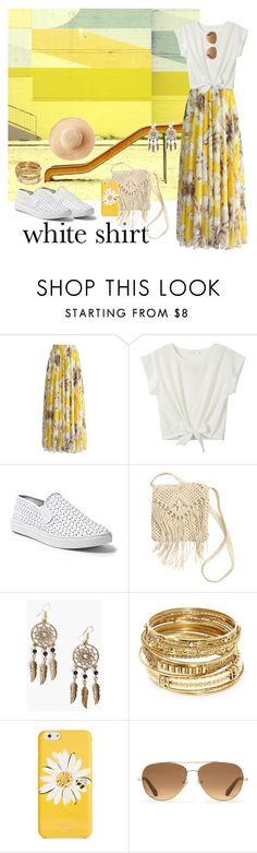 """This Use to be My Playground ..."" by krusie ❤ liked on Polyvore featuring Chicwish, Steve Madden, H&M, Boohoo, ABS by Allen Schwartz, Kate Spade, Stella & Dot and Toast"