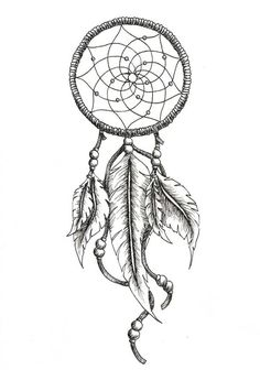 dreamcatcher tattoos with birds drawings - Google Search: