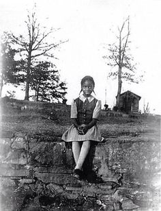 Nina Simone as a child.
