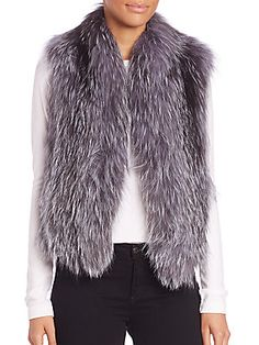 june Fox Fur Vest