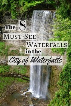You don't have to look very hard to find waterfalls in Hamilton, Canada. With over 100 to explore, check out my picks for the 8 BEST waterfalls in Hamilton — The Waterfall Capital of the World! Ontario Travel, Canada Travel, Usa Travel, Travel Guides, Travel Tips, Travel Articles, Cruises, Day Trips, The Great Outdoors