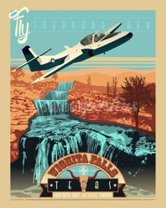 Fighter Art - The Beginning! T-37 Tweet in Wichita Falls, TX