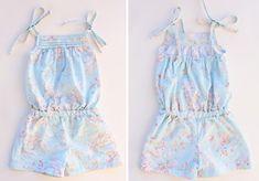 Với cách may jumpsuit cho bé này, bạn có thể tự tay làm một bộ đồ bay đáng yêu cho bé gái chỉ với một mảnh vải hoa mà bạn và bé ưa thích. Cùng học cách may jumpsuit giúp bé thoải mái khi vui chơi mà không sợ quần áo bị xô lệch nhé!