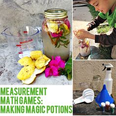 Taking Math Learning Outdoors: Magic Mathematical Potions