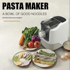 Pasta Casera, Mini Washing Machine, Noodle Maker, Homemade Spaghetti, Pasta Machine, Fresh Pasta, Mixed Vegetables, Making Machine, Dinner Tonight