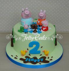 George Pig's Picnic Birthday Cake | Flickr - Photo Sharing!