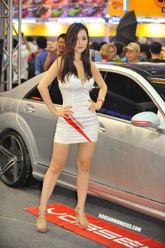Seoul Auto Salon 2012 - Part 1 (임지혜 - IM Ji Hye) | Korean Wonders