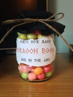 Fun game for a knights and dragons theme birthday party!