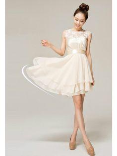 Short bridesmaid dress,champagne bridesmaid dress, popular bridesmaid dress