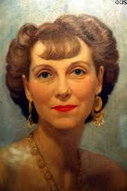 A very young, and flattering portrait of First Lady Mamie Eisenhower, wife of Dwight David Eisenhower. (Mamie loved her short bangs) Presidents Wives, Black Presidents, Greatest Presidents, American Presidents, American History, First Lady Of Usa, First Lady Of America, First Lady Portraits, American First Ladies