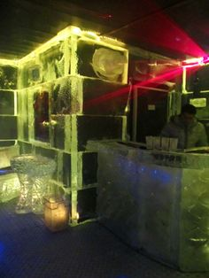 ice bar barcelona // 2 carrer ramon trias fargas // Spaniards love the nightlife and this bar is one of the coolest - literally - in the city. Though you'll be lucky if your stay lasts more than an hour, everything in the bar - including your drinking glass - is made of ice #nightlife