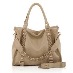 bc1829a3b7 Casual Stylish Laconic Women s Tote Bag With Solid Color Weaving and Rivets  Design