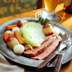 Corned Beef and Cabbage - The ultimate Irish dish for St. Patrick's Day or to celebrate Irish heritage