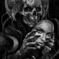 Demon by Kazimirov Dmitriy on ArtStation.