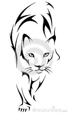 Illustration about Logo tattoo tiger black vector illustration. Illustration of feline, africa, puma - 34904516 Leo Lion Tattoos, Body Art Tattoos, Art Drawings Sketches, Animal Drawings, Tiger Tattoo Small, Tribal Tiger Tattoo, Tiger Tattoo Klein, Black Panther Tattoo, Tattoo Black