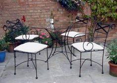 Trucos para el mantenimiento de los muebles de hierro