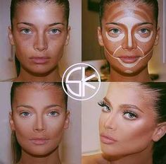 Great example of some remarkable contouring!