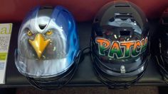 Names starting at $20 with your helmet
